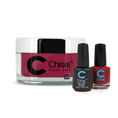 Chisel Combo 3 in 1: Dip + Gel + Lacquer  - SOLID54