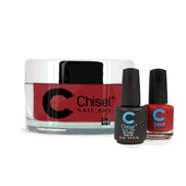 Chisel Combo 3 in 1: Dip + Gel + Lacquer  - SOLID55