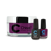 Chisel Combo 3 in 1: Dip + Gel + Lacquer  - SOLID58