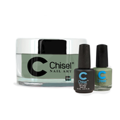 Chisel Combo 3 in 1: Dip + Gel + Lacquer  - SOLID64