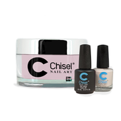 Chisel Combo 3 in 1: Dip + Gel + Lacquer  - SOLID68