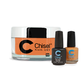 Chisel Combo 3 in 1: Dip + Gel + Lacquer  - SOLID93