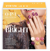 OPI GelColor - HPM18  Shine Bright Add-On Kit #1 - 6pc