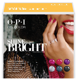 OPI GelColor - HPM19  Shine Bright Add-On Kit #2 - 6pc