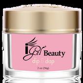 iGel Dip & Dap Powder - Pink & White - DP5 DARK PINK 2oz