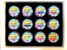 WaveGel Gel Paint Kit - 12 Colors x 10g