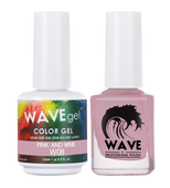Wave 0.5OZ Simplicity Duo #008 Pink and Wink - 22698