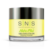 SNS Powder Color 1 oz - #BD01 FASHIONISTA YELLOW