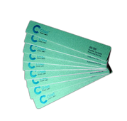 Chisel Nail File Square 80/80 Green Pack/30pcs