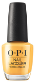 OPI Lacquer - #NLN82 - Marigolden Hour - Malibu Collection .5 oz
