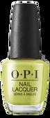 OPI Lacquer - #NLN86 - Pear-adise Cove - Malibu Collection .5 oz