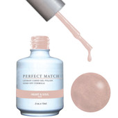 PERFECT MATCH Gel Polish + Lacquer - PMS109 HEART AND SOUL