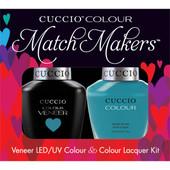 Cuccio Match Makers (Retired Color) - #6041 Grecian Sea