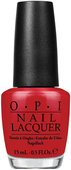 OPI Lacquer - #NLA70 - RED HOT RIO .5 oz