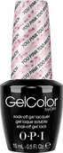 OPI GelColor (BLK) - #GCG03 - You Pink Too Much .5 oz