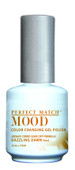 LeChat Mood Color Changing Gel Polish - MPMG15 Dazzling Dawn