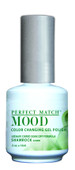LeChat Mood Color Changing Gel Polish - MPMG22 Shamrock