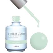 PERFECT MATCH Gel Polish + Lacquer - PMS116 MINT JUBILEE