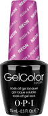 OPI GelColor (BLK) - #GCN37 - Push & Pur-Pull - Neon Collection .5 oz