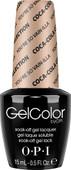 OPI GelColor (BLK) - #GCC14 - You're So Vain-illa - Coke Collection .5 oz