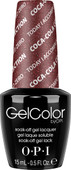 OPI GelColor (BLK) - #GCC17 - Today I Accomplished Zero - Coke Collection .5 oz