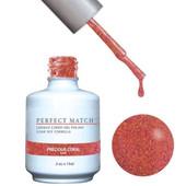 PERFECT MATCH Gel Polish + Lacquer - PMS124 PRECIOUS CORAL