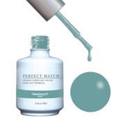 PERFECT MATCH Gel Polish + Lacquer - PMS128 Tranquility