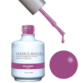 PERFECT MATCH Gel Polish + Lacquer - PMS131 Wild Berry