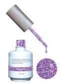 PERFECT MATCH Gel Polish + Lacquer - PMS136 Violet Vixen