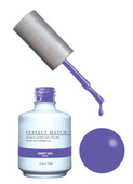 PERFECT MATCH Gel Polish + Lacquer - PMS148 Sweet Iris
