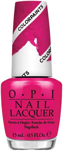 OPI Lacquer - #NLP22 - PEN & PINK - Color Paints .5 oz