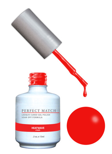 PERFECT MATCH Gel Polish + Lacquer - PMS153 Heatwave (Cream)
