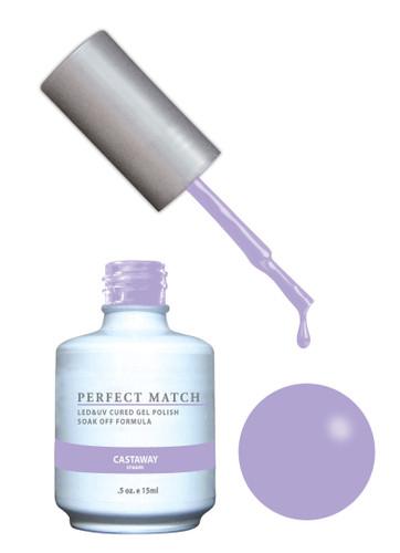PERFECT MATCH Gel Polish + Lacquer - PMS154 Castaway (Cream)