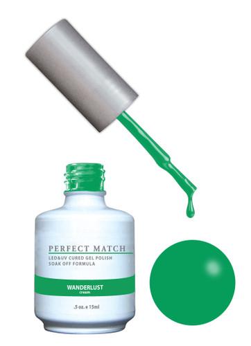 PERFECT MATCH Gel Polish + Lacquer - PMS155 Wanderlust (Cream)