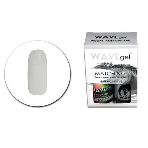 WaveGel Matching S/O Gel & Nail Lacquer - WCG74 American Ave .5 oz