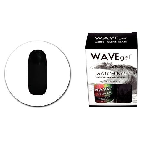 WaveGel Matching S/O Gel & Nail Lacquer - WCG80 Clean Slate .5 oz