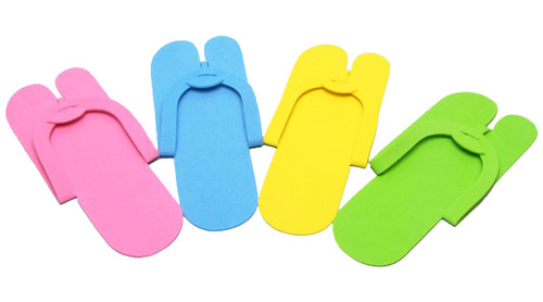 Pedicure Slippers - Fold Type FS9 - 12 Pairs/bag)