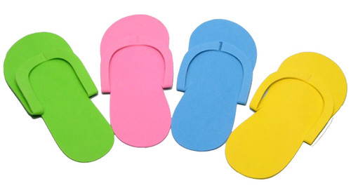 Pedicure Slippers - Sew Type FS2 - 12 Pairs/bag