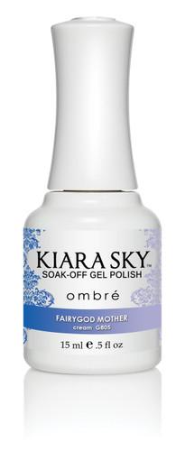 Kiara Sky Ombre Color Changing Gel Polish - G805 FairyGod Mother .5oz