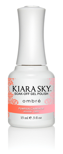 Kiara Sky Ombre Color Changing Gel Polish - G806 Pumpkin Carriage .5oz