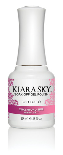 Kiara Sky Ombre Color Changing Gel Polish - G811 One Upon A Time .5oz