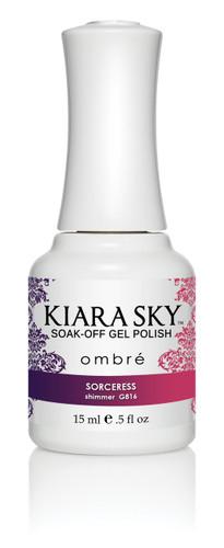 Kiara Sky Ombre Color Changing Gel Polish - G816 Sorceress .5oz