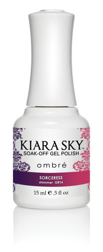 Kiara Sky Ombre Color Changing Gel Polish - G816 Sorceress .5oz