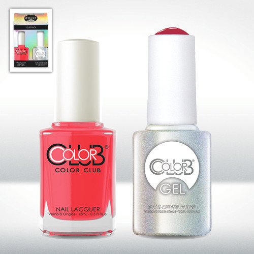Color Club Gel Duo Pack - GEL225 - WATERMELON CANDY PINK