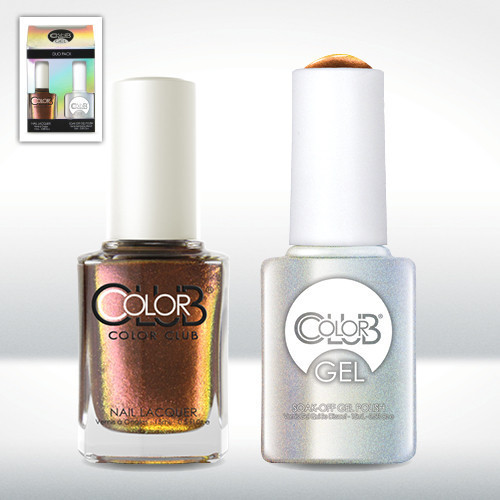 Color Club Gel Duo Pack - GEL868 - WILD AND WILLING