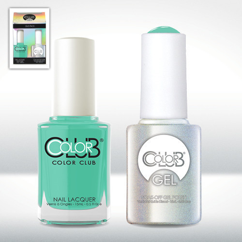 Color Club Gel Duo Pack - GELAN04 - AGE OF AQUARIUS
