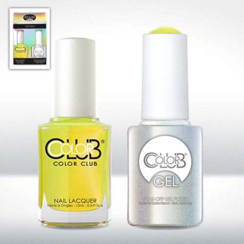 Color Club Gel Duo Pack - GELAN27 - NOT-SO-MELLOW-YELLOW