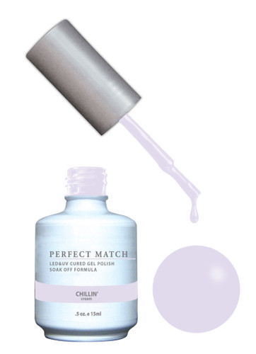 PERFECT MATCH Gel Polish + Lacquer - PMS164 Chillin'