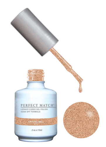 PERFECT MATCH Gel Polish + Lacquer - PMS165 Crystal Ball