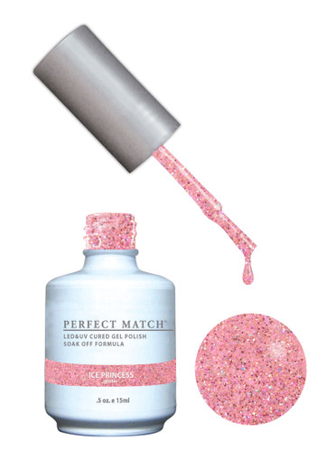 PERFECT MATCH Gel Polish + Lacquer - PMS167 Ice Princess